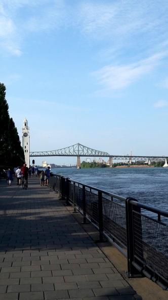 Quai de l'Horloge et Pont Jacques Cartier